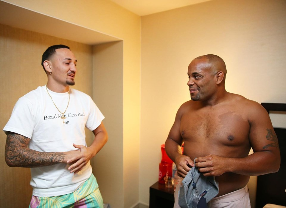Max Holloway posts an extremely touching message of support to Daniel Cormier after UFC 241 loss - Max Holloway