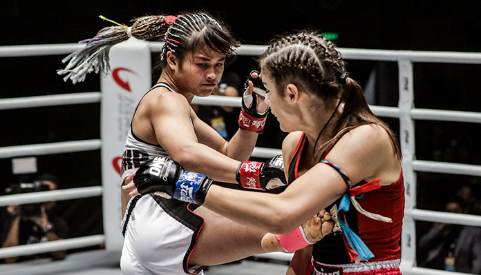 Stamp Fairtex Has Prepared A Special Surprise For Asha Roka -