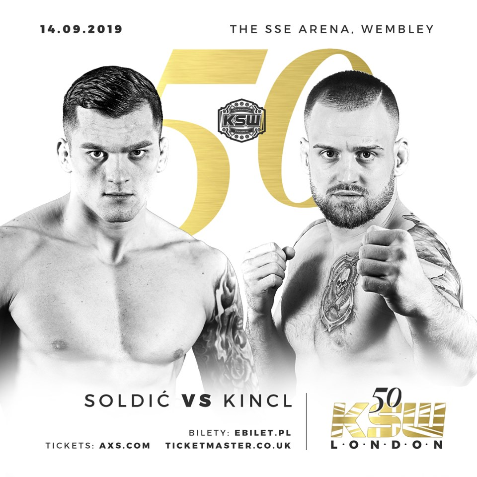 Roberto Soldic to defend title against Patrik Kincl at KSW 50 -