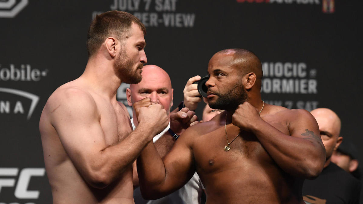 Watch: DC questions Stipe Miocic's mentality ahead of UFC 241 rematch - Stipe