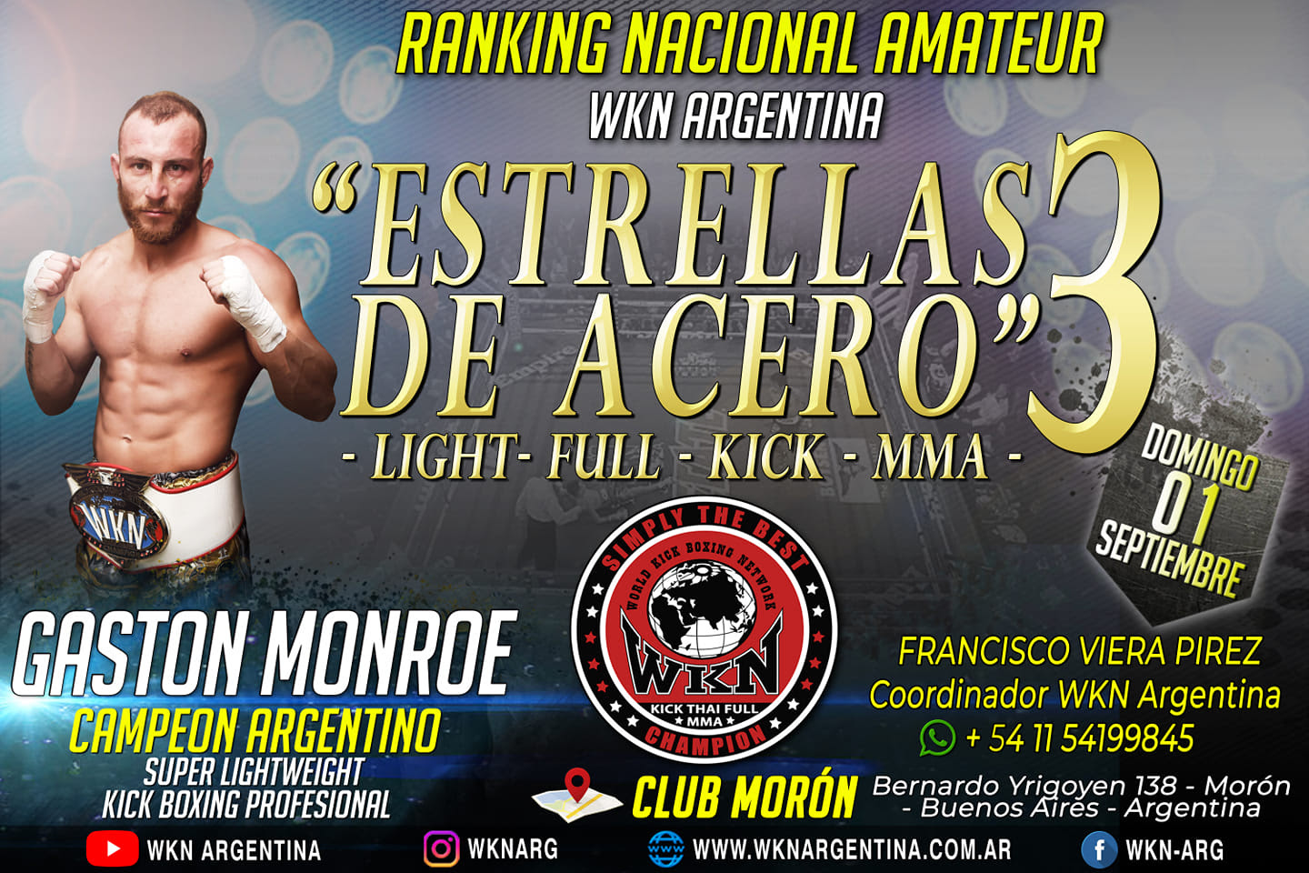 WKN returns to Argentina with Estrellas de Acero 3 -