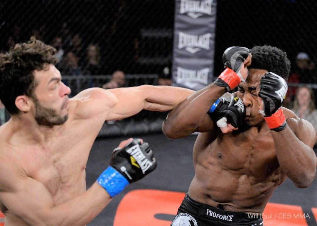 Vinicius De Jesus vs. Chris Lozano CES MMA Welterweight World Championship -