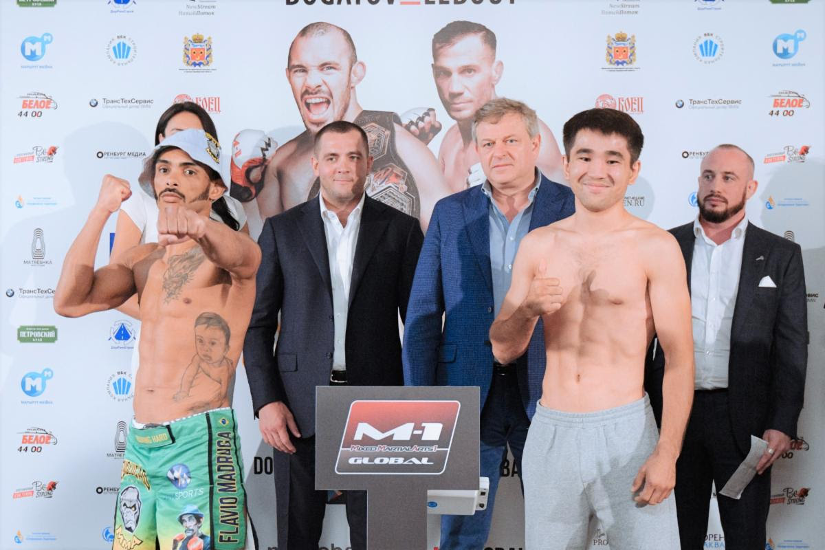 M-1 Challenge 104 WEIGHTS & PICTURES -
