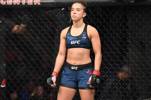 UFC: Maycee Barber calls out PVZ: She can fight me or never fight again! - Barber