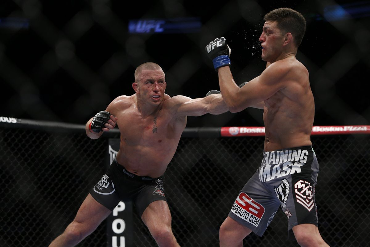 GSP hails Nick Diaz; says he could have beat Tyron Woodley for the UFC title - Diaz