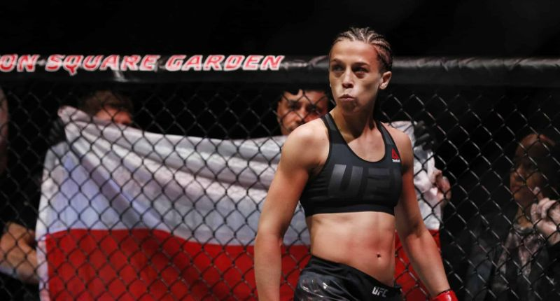 UFC:  Joanna Jedrzejczyk claims she is one win away from UFC title shot! - Jedrzejczyk