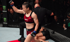 Jessica Andrade 'proud of herself' despite quick KO loss to Weili Zhang - Andrade