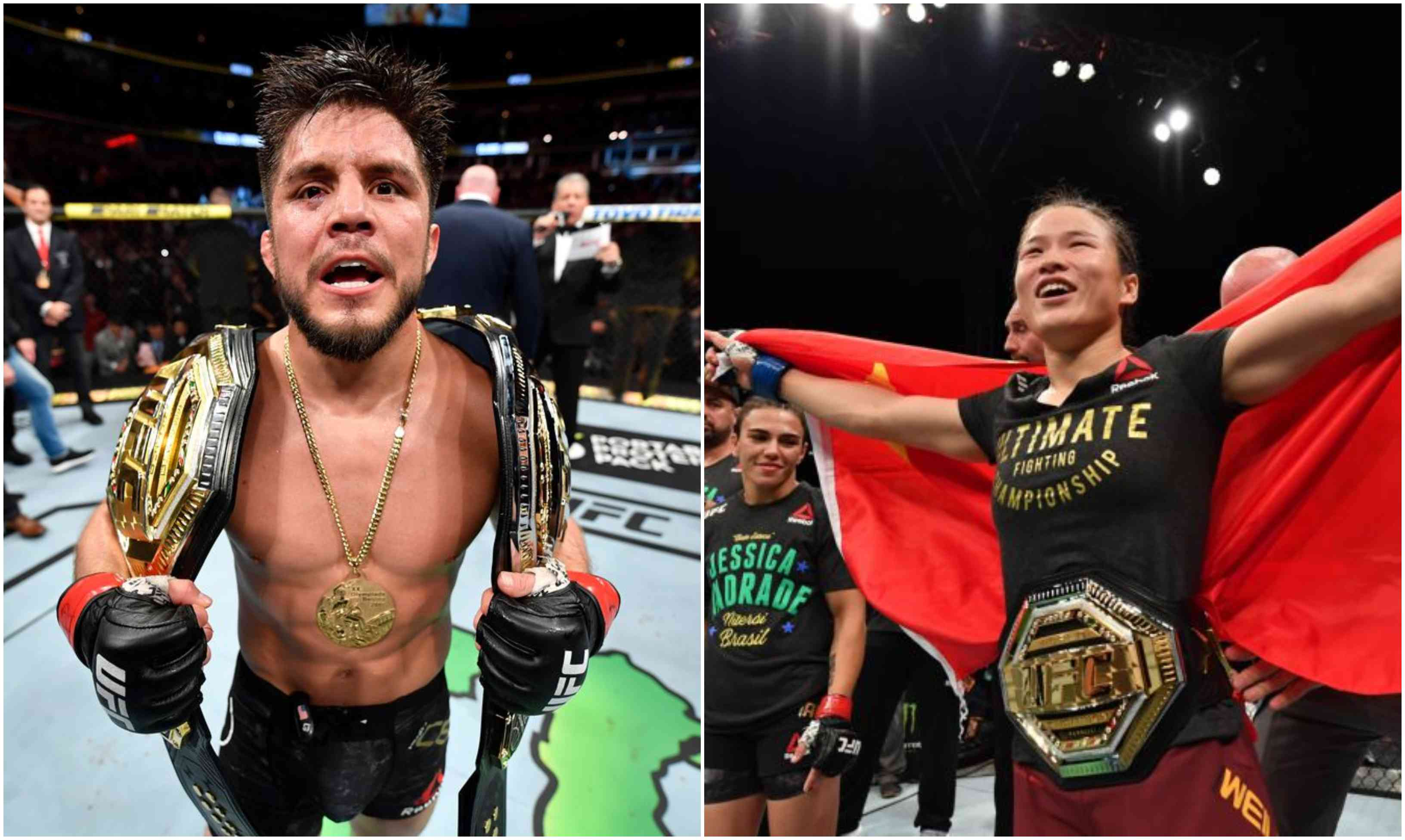 Weili Zhang tells Henry Cejudo to get a sex change; Triple C asks her to bend the knee! - Weili