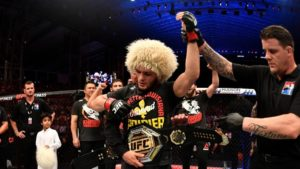 Khabib wants number 1 p4p ranking: 'I deserve some respect!' - Khabib Nurmagomedov