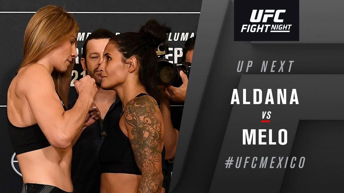 UFC Fight Night 159 Results - Irene Aldana Dominates Vanessa Melo in a Lopsided Win -
