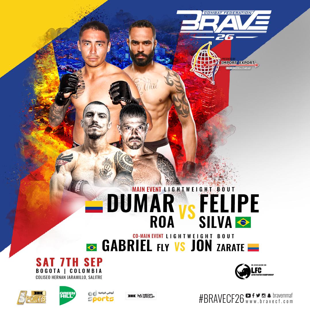 Felipe Silva unfazed by opponent change at BRAVE 26: 'Same strategy' -