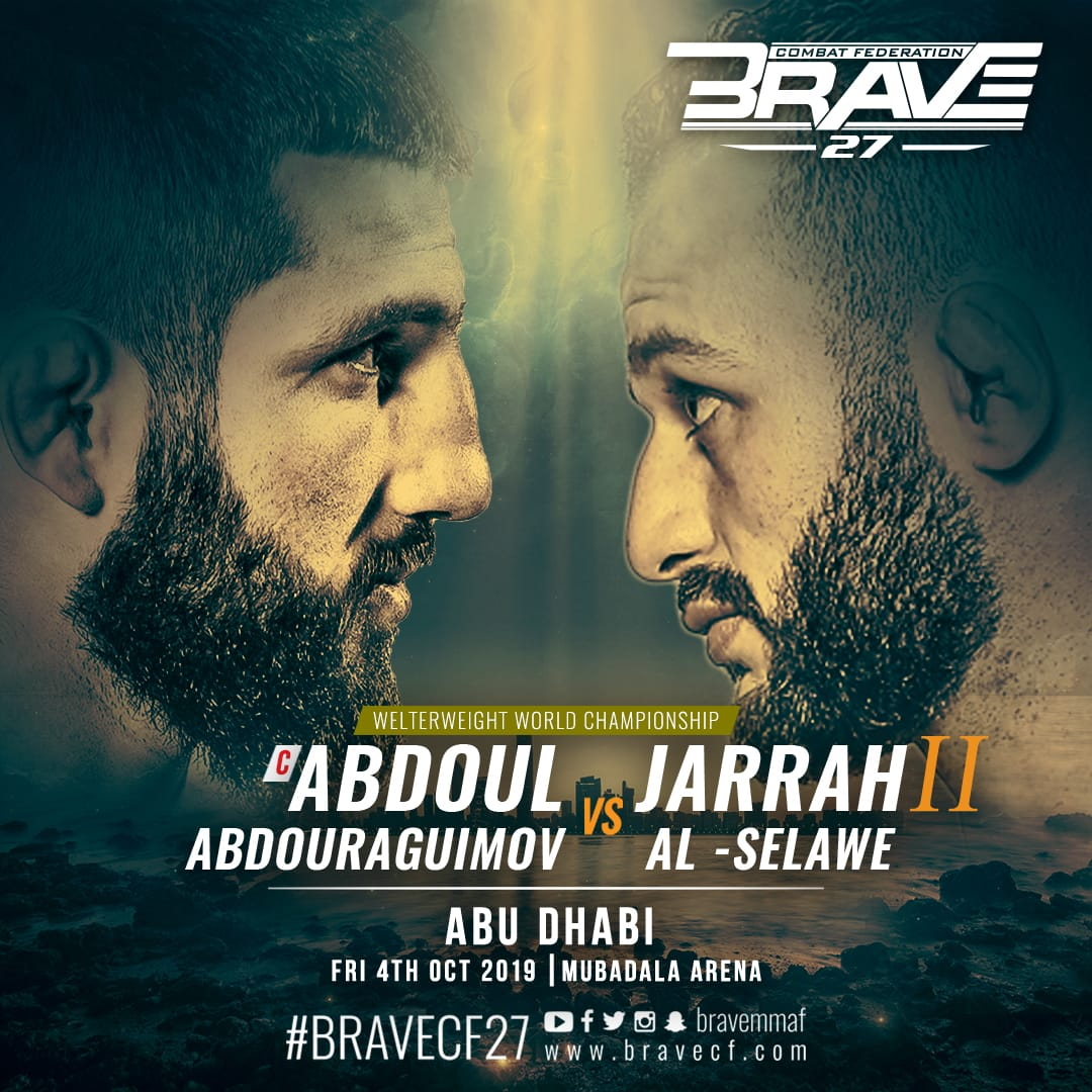 BRAVE CF returns to Abu Dhabi with the most anticipated rematch of the year -