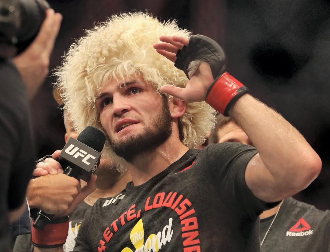 Khabib reveals future plans after UFC 242 win - and it involves Tony Ferguson! - Khabib