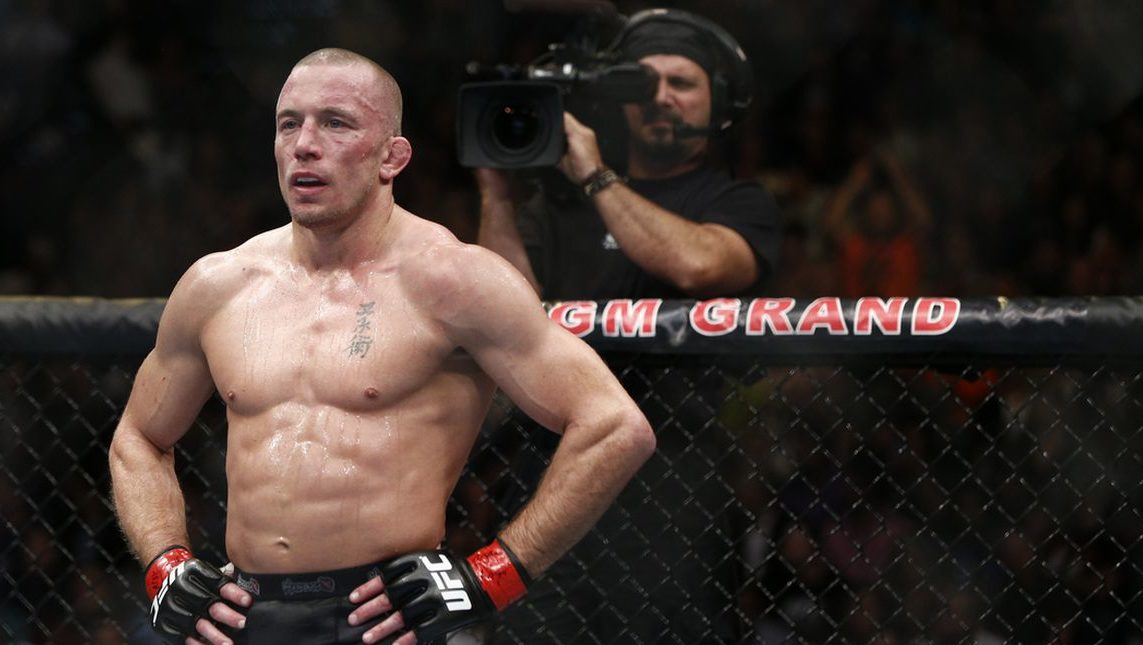 Georges St-Pierre says UFC refused to match him against Khabib Nurmagomedov - Khabib