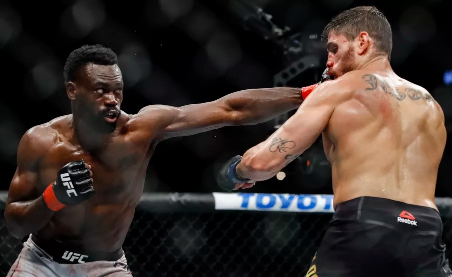 UFC Fight Night 158 Results - Uriah Hall Picks Up a Split Decision Victory In a Closely Contested Fight -