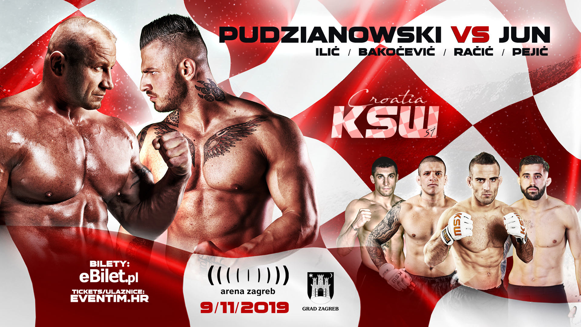 KSW comes to Croatia for the very first time -