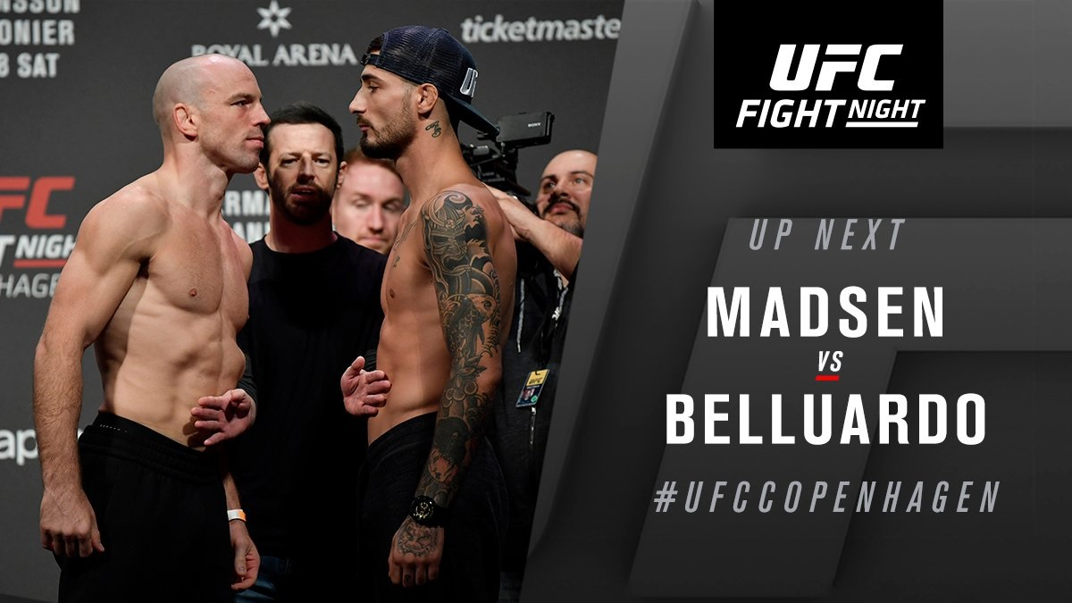 UFC Fight Night 160 - Hermansson vs. Cannonier LIVE Results -
