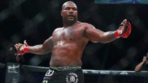 Watch: Rampage Jackson and Ryan Bader seperated in cage as post-fight brawl erupts at Bellator 226 - Rampage Jackson