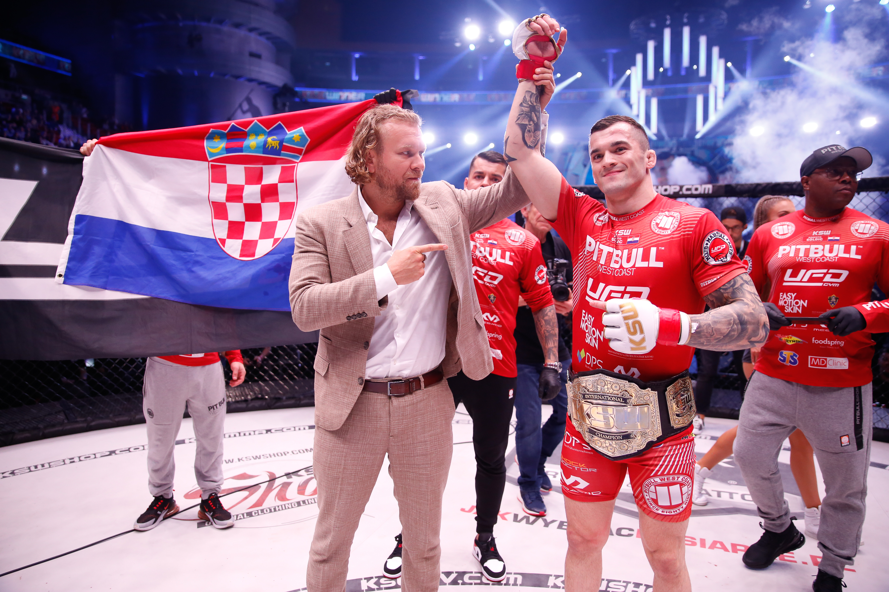 Roberto Soldic gets a new opponent for KSW 50 -