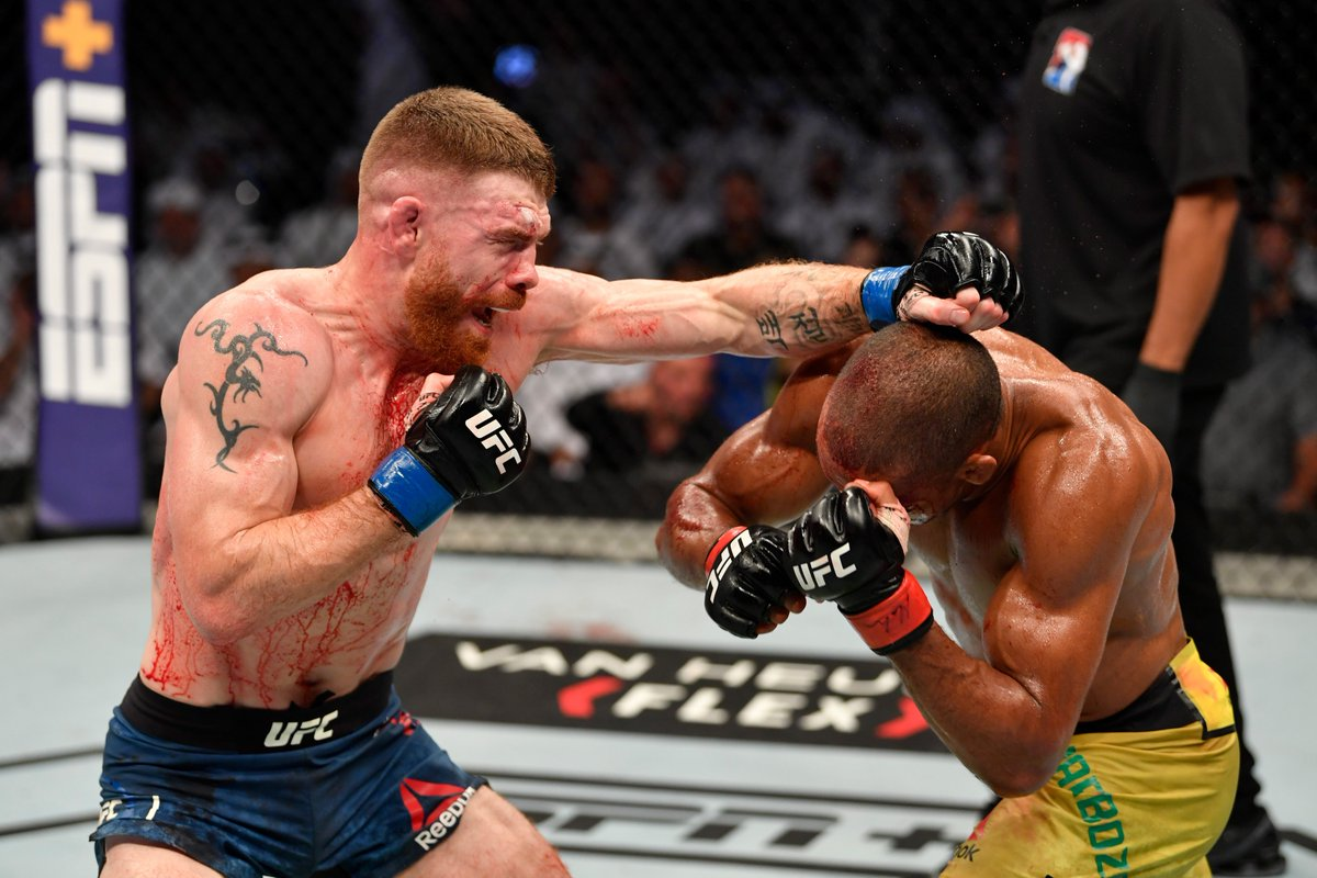 Paul Felder on Edson Barboza appealing their fight's decision: I staggered him and he didn't stagger me! - Paul Felder