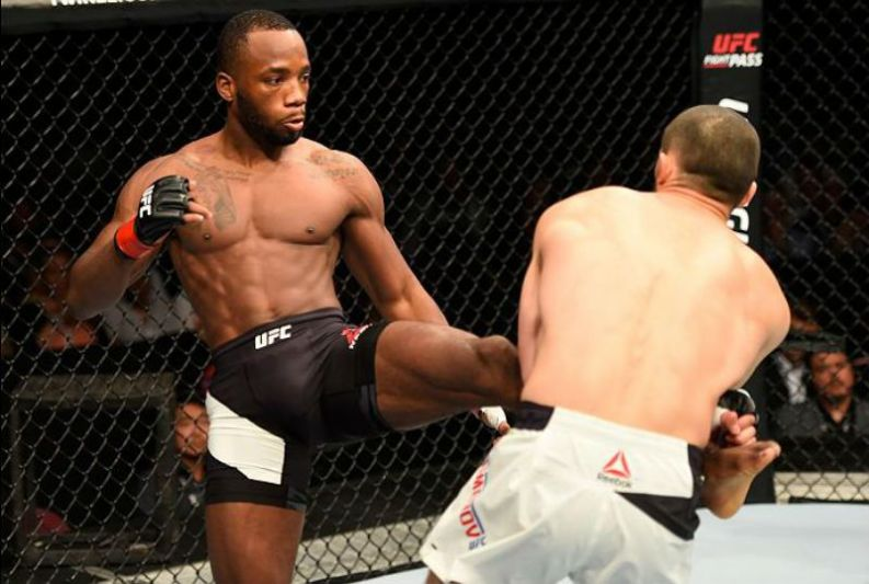 Leon Edwards willing to fight Woodley instead of Masvidal if guaranteed a title shot next - Edwards