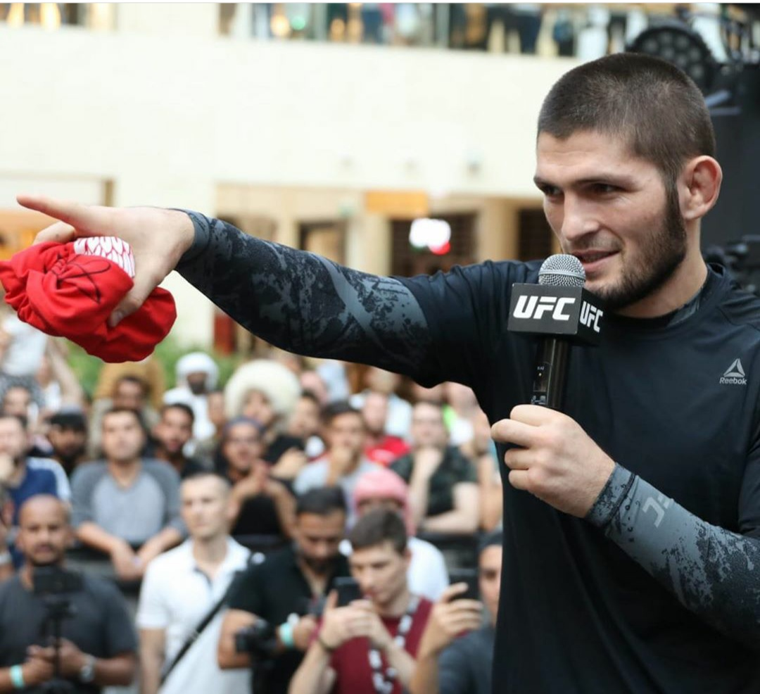 UFC 242 - Khabib Nurmagomedov Media Conference Call -
