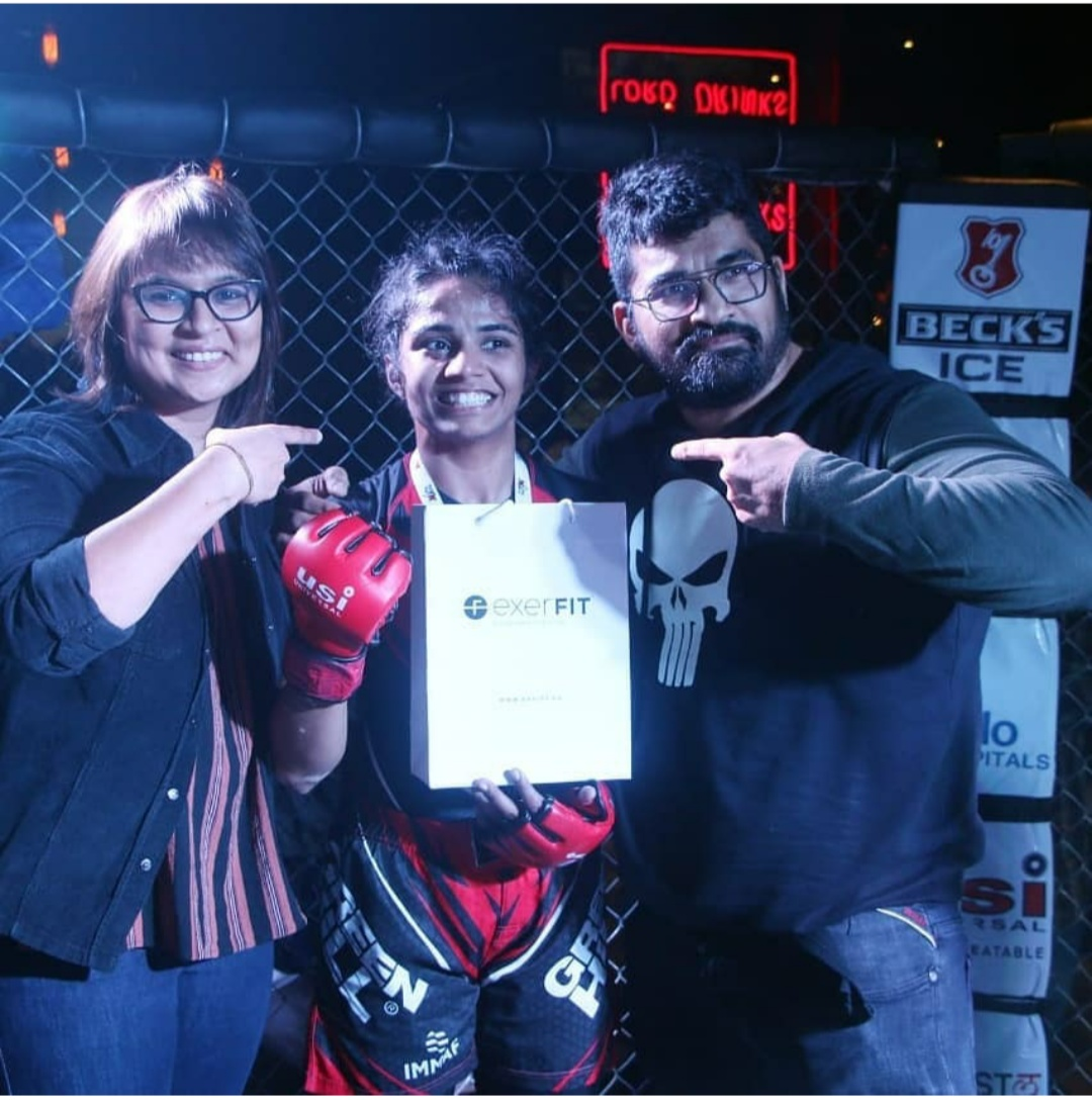 Friday Fighter of the Week: Akshata Khadtare - Akshata