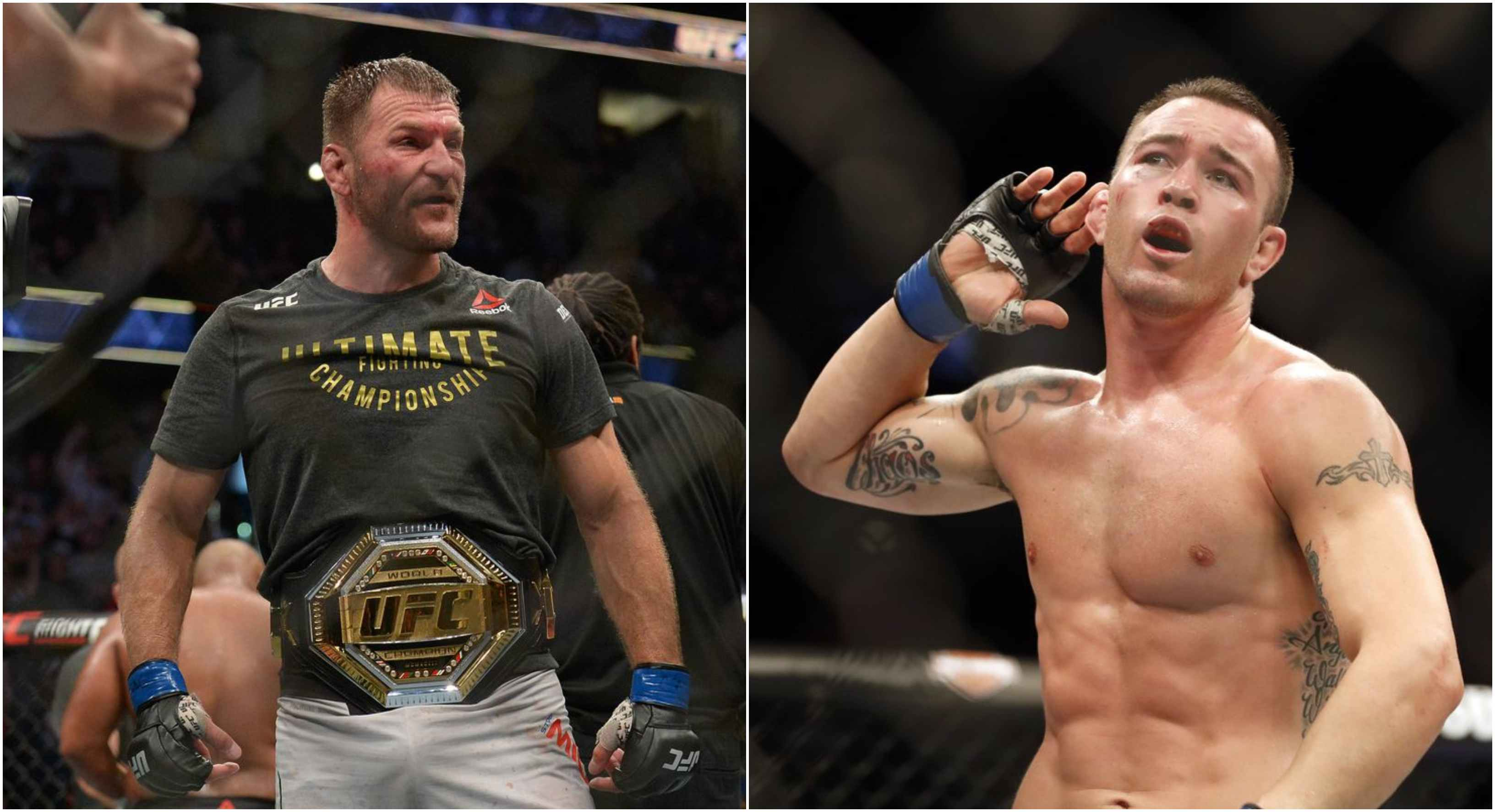Stipe Miocic wants to have a chat with Colby Covington for things he said to his wife - Miocic