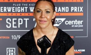 Julia Budd to defend her Bellator featherweight title against Cris Cyborg on  Jan. 25 - Cyborg