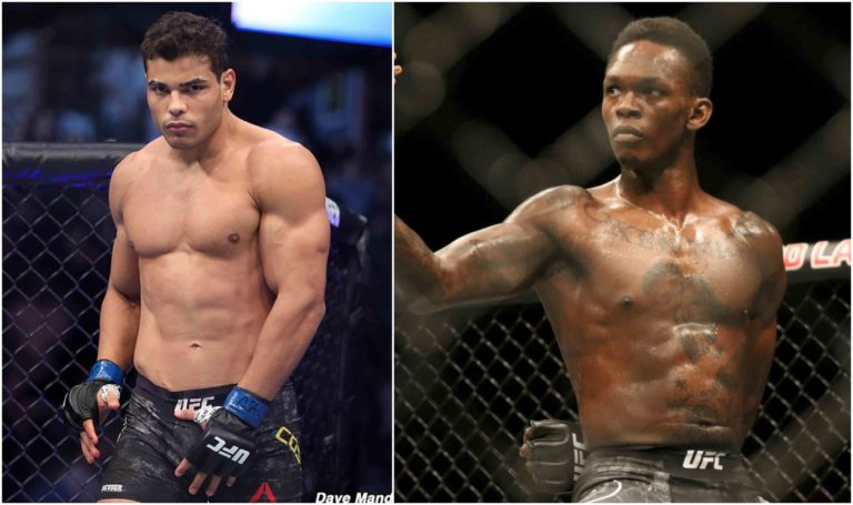 Paulo Costa calls Israel Adesanya 'skinny clown', says will be ringside for UFC 243 - Costa