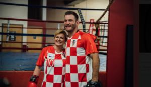 Croatian president says hello to UFC HW champ Stipe Miocic - Stipe Miocic