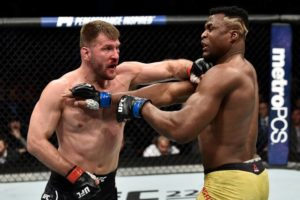 Francis Ngannou lobbying for Stipe Miocic rematch in 2019 - Ngannou