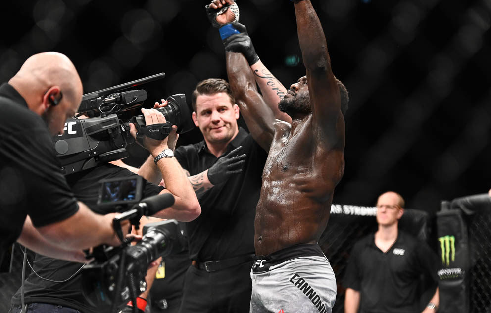 UFC Fight Night 160 Results - Jared Cannonier Scores an Impressive Second Round TKO Over Jack Hermannsson -