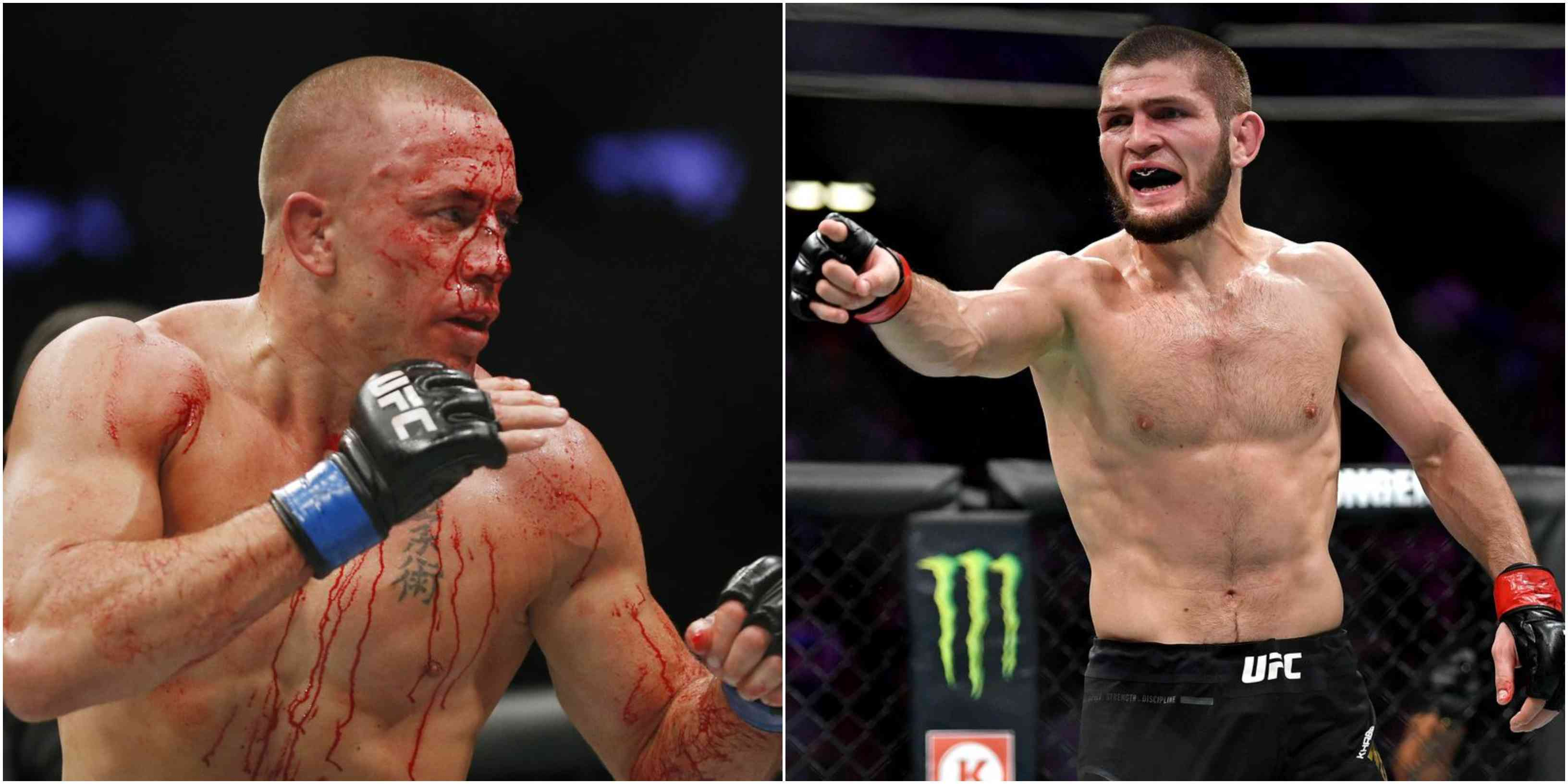 It's either Khabib or bust for GSP's next UFC fight - Khabib