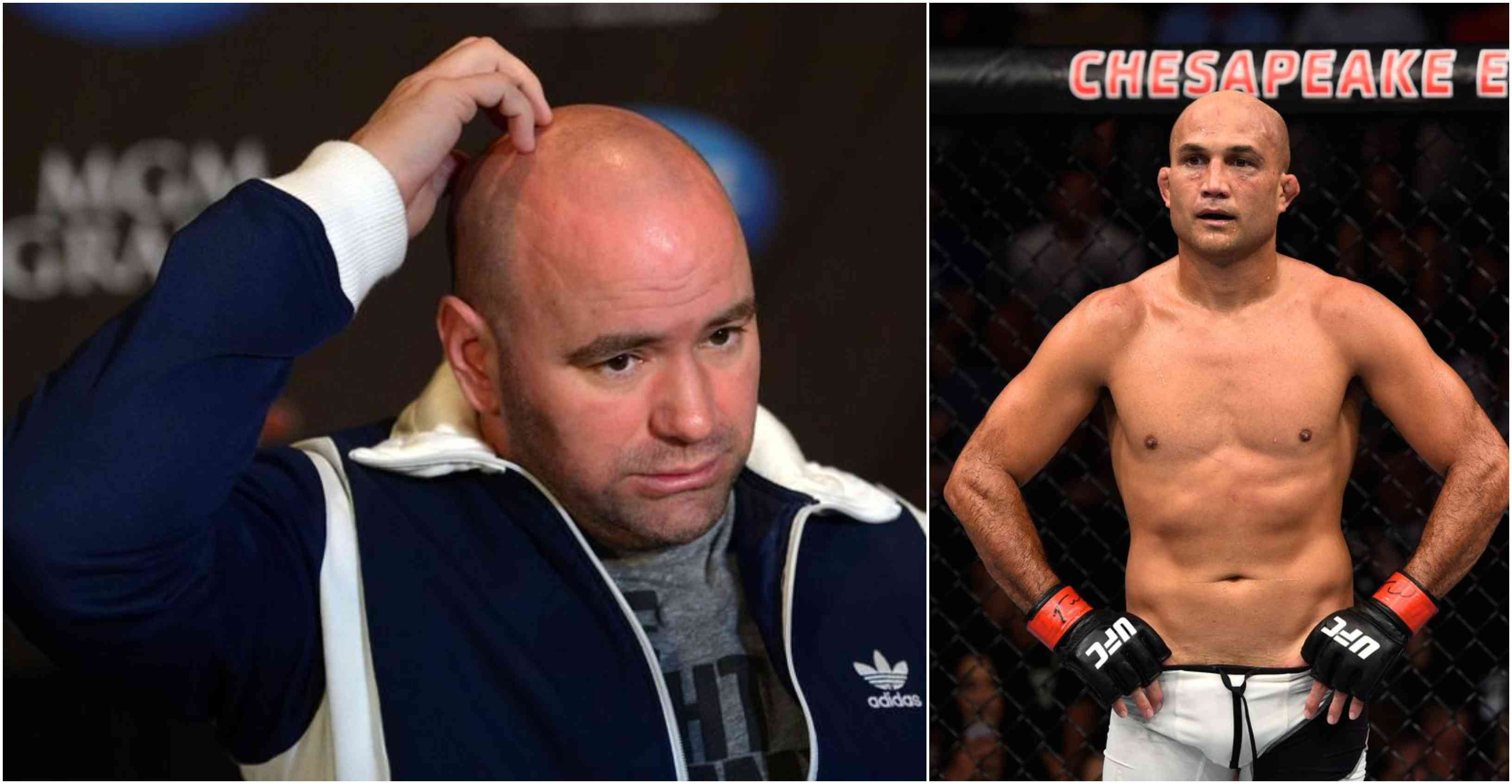 Dana White puts an end to BJ Penn's UFC career - White