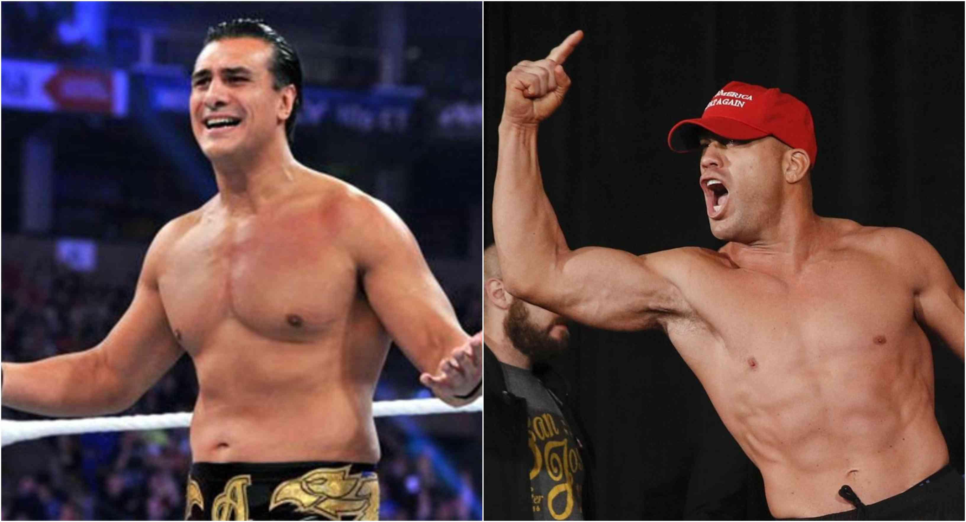 Watch: Tito Ortiz and Alberto Del Rio have a cringeworthy promo-off to build up fight - Tito