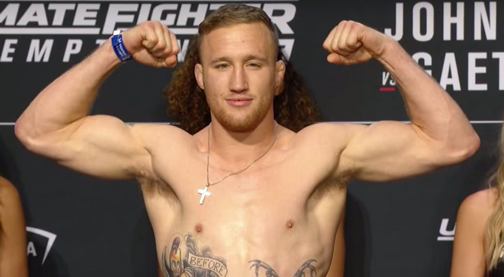Watch: Video emerges of Justin Gaethje brutalizing his opponent using his wrestling! - Justin Gaethje