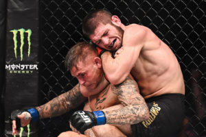 Brian Ortega says it's a 'wrap' if he had Khabib's neck like Poirier did at UFC 242 - Khabib