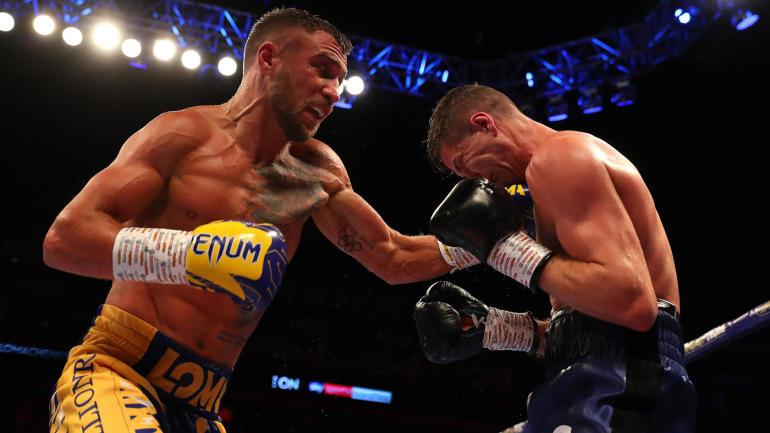 Vasiliy Lomachenko defeats Luke Campbell via unanimous decision in London - Lomachenko