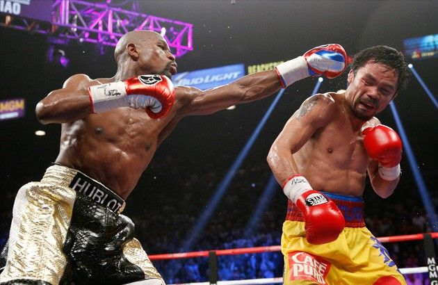 Floyd Mayweather says he is working on a exhibition match with Manny Pacquiao - Floyd