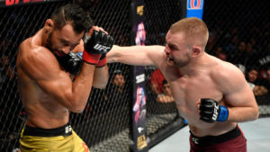 Michel Pereira believes he won the fight against Tristan Connelly at UFC Vancouver - Pereira