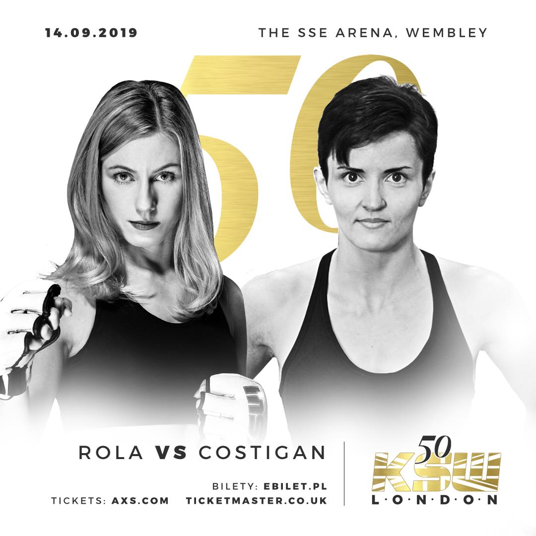 Dricus Du Plessis returns & Ireland's Catherine Costigan debuts KSW 50 -
