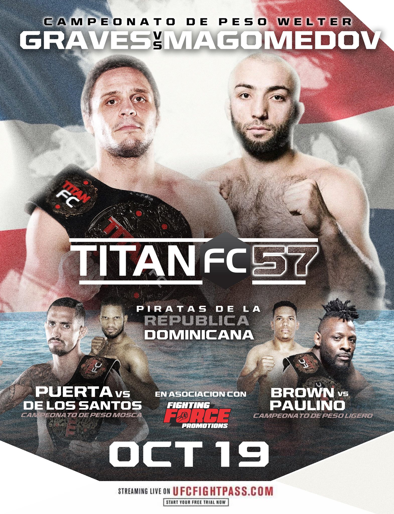 Uros Jurisic stripped of Titan FC welterweight title, Michael Graves receives new opponent in Titan FC 57 headliner -