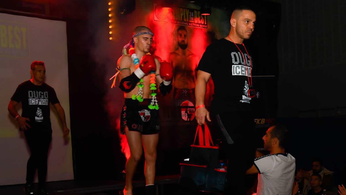 Ougo Huet aims two WKN titles in Kickboxing & Muay Thai -