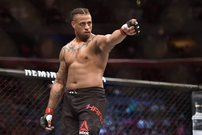 UFC: Greg Hardy reacts to replacing JDS against Alexander Volkov at UFC Moscow - Hardy