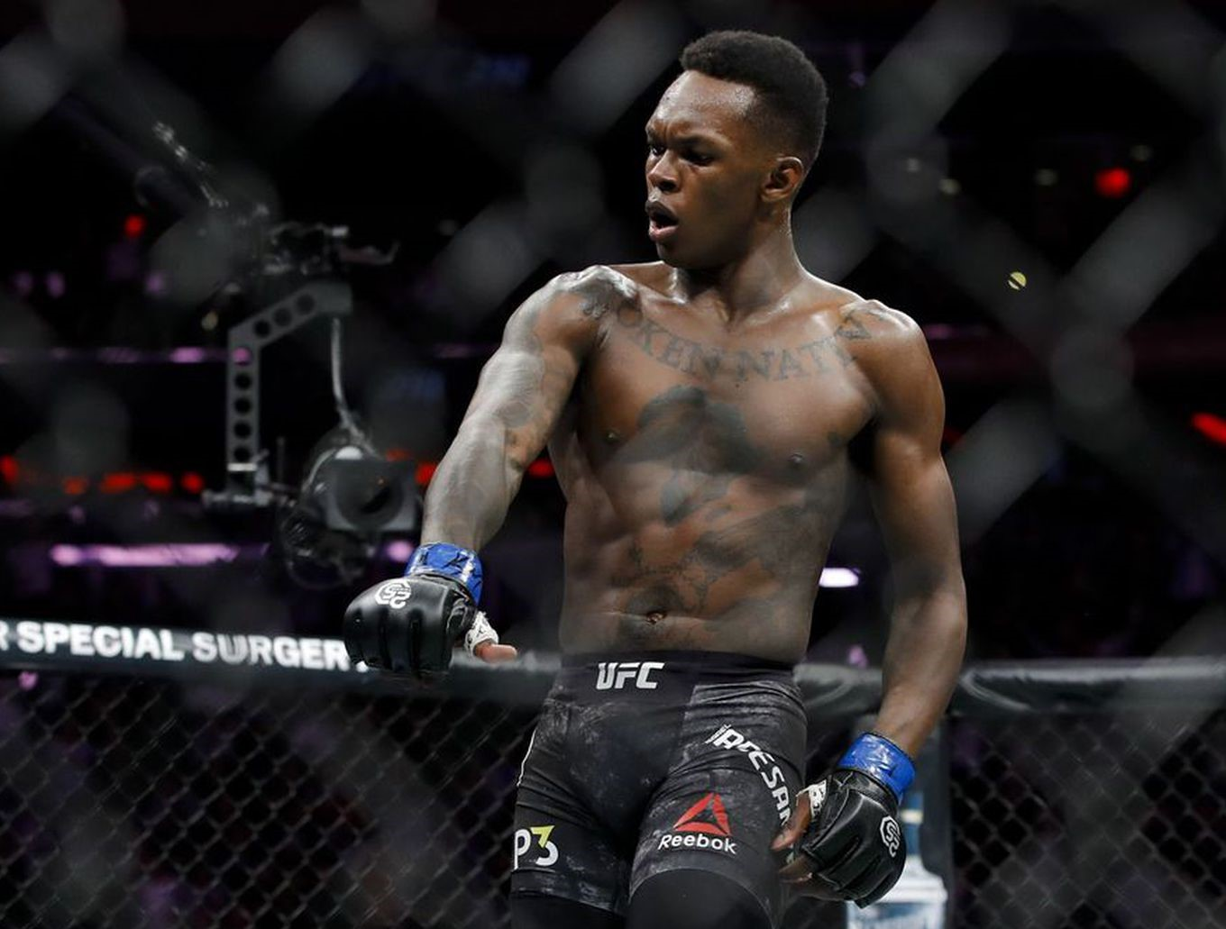 Watch: Israel Adesanya says Jon Jones is one of the greats - but that he's tarnished his own legacy! - Adesanya
