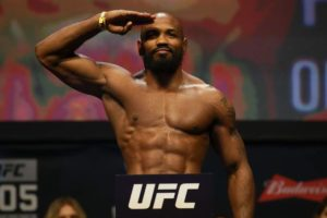 UFC: Watch: Hilarious reaction from Yoel Romero when confronted with his fear of heights! - Romero