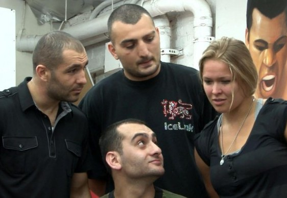 Ronda Rousey's former stablemate Vanes Martirosyan arrested for headbutting his wife - Ronda
