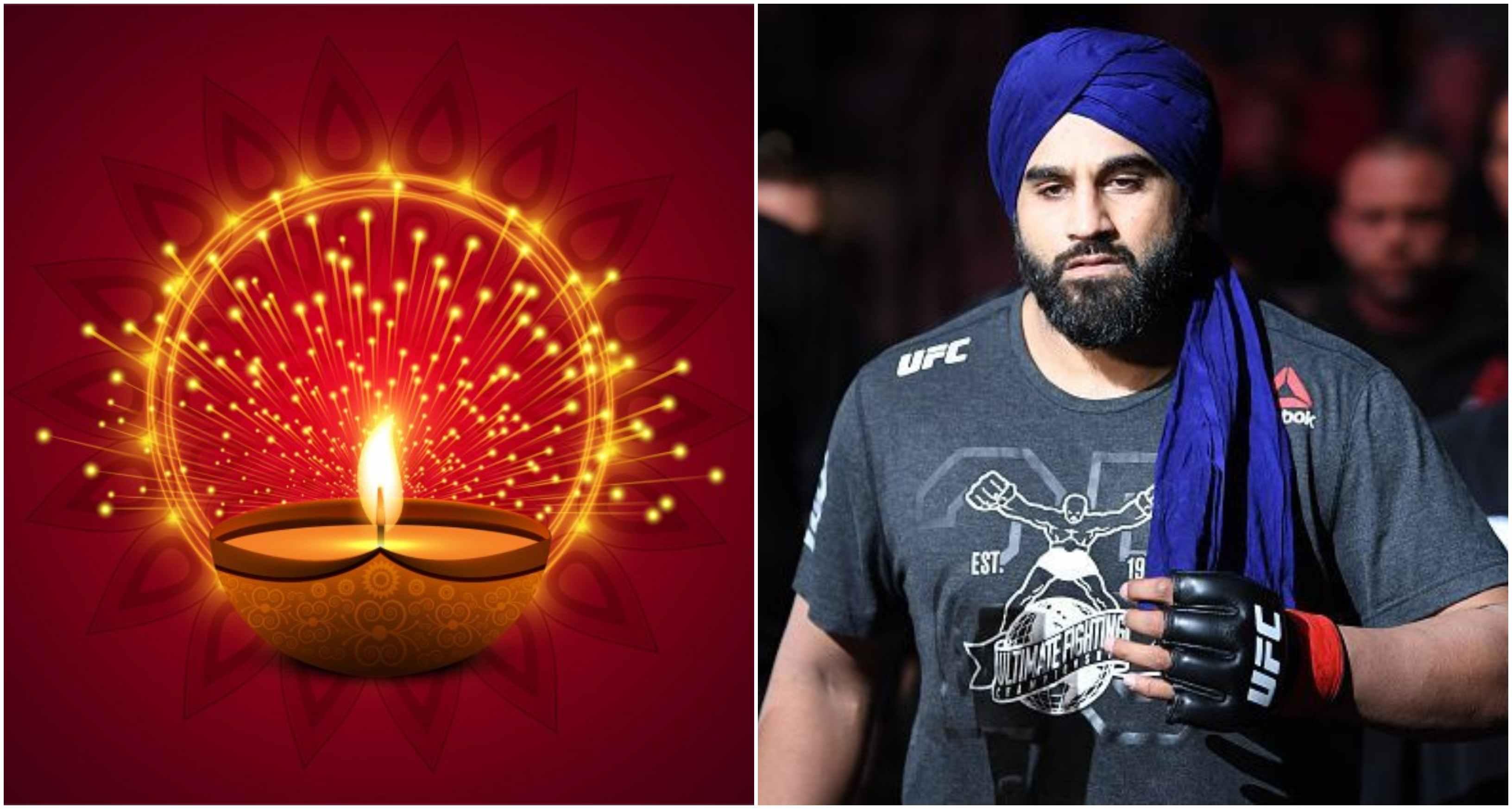 Arjan Singh Bhullar sends Diwali wishes to all celebrating the festival of light - Bhullar
