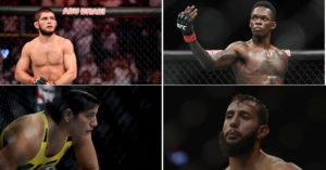 Four Undefeated Cage Fighters in UFC -
